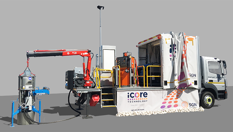 iCore demonstrated at industry event in Bauma, Germany