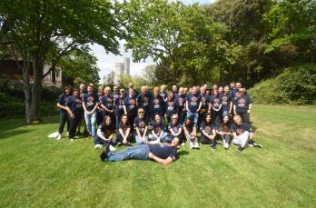 HR team give Revitalise respite centre a makeover